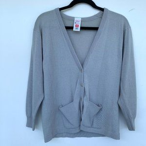 St. Michael Front Button Wool Knit Cardigan 12